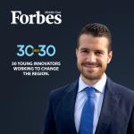 Designhubz CEO, Nadim Habr featured on Forbes' 30 under 30